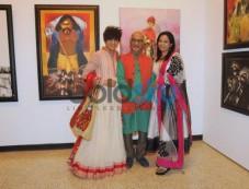 Zeenat Aman & Rohit Verma unveils That life in Colors Photos