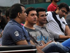 Aamir Khan,Sharman Joshi attend Women's Open Tennis Tournament Photos