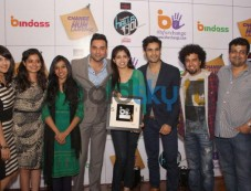 Abhay Deol at a press conference to promote Bindass shows Photos