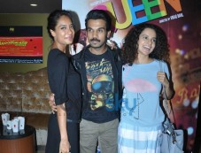 Celebs at Queen special screening at pvr juhu Photos