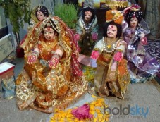 Gangaur Shiva and Parvati Festival Photos