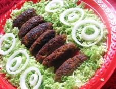 Hyderabadi Shikampuri Kebab Recipe Photos