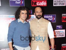 Imtiaz Ali with Rohit Shetty during HT Mumbai's Most Stylish Awards 2014 Photos