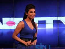 Priyanka Chopra at NDTV's first dual channel launch Photos