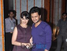 Ritesh and Genelia Deshmukh at Kangna Ranaut Birthday Bash Photos