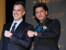 Shah Rukh Khan unveils new Tag Heuer's watches Photos