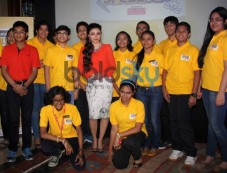 Soha Ali Khan during Classmate Spell Bee 2014 competition Photos