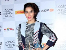 Sophie Chaudhary at Lakme Fashion Week Summer Resort 2014 Photos