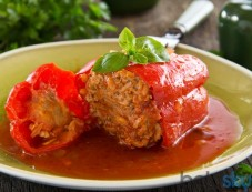 Spicy Chicken Stuffed Bell Peppers Photos
