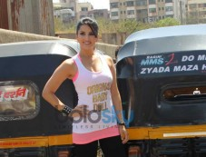 Sunny Leone during Ragini MMS 2 promotion Photos