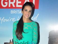 Tara Sharma at Bollywood Themed Travel App Launch Photos