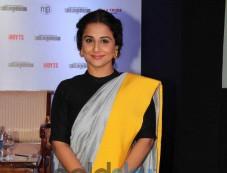 Vidya Balan at Indian Film Festival press conference Photos