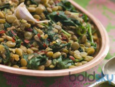 World Earth Day Special Palak Poriyal Recipe Photos