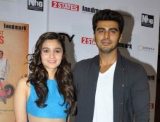 Alia and Arjun launch 2 States new cover Photos