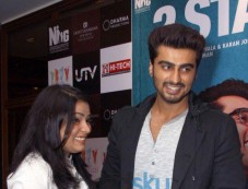 Arjun Kapoor stuns during 2 States promotion Photos