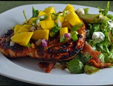 Barbecued Chicken With Mango Salsa Photos