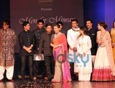 Celebs stuns at Men For Mijwan charity fashion Photos
