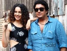 Kangana Ranaut promotes Revolver Raani at filmaalya studio Photos