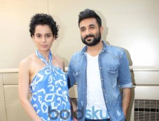Kangana Ranaut stuns during Revolver Rani Media Interacation Photos