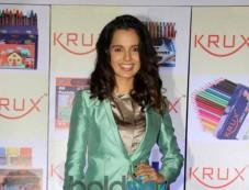 Kangna Ranaut at Krux Stationary products launch Photos