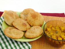 Navratri Recipe Singhare Ki Poori Photos