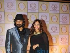 R Madhwan with wife atSatyug Gold party Photos