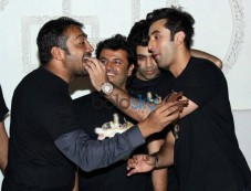 Ranbir Kapoor at Wrap up party of Bombay Velvett Photos