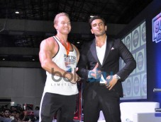 Ranveer Singh at fitness exhibition Photos