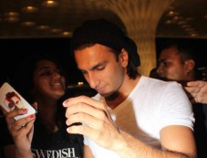 Ranveer Singh Leave for IIFA 2014 Photos