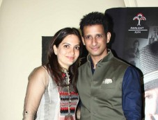 Sharman Joshi with wife at Prem Chopra Biography Launch Photos