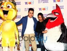 Sonakshi Sinha and Imran Khan at Rio 2 hindi trailor launch Photos