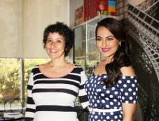 Sonakshi Sinha with Manisha Koirala at Women's Health magazine cover Photos