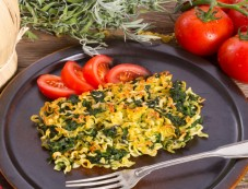 Spinach Corn Au Gratin For Easter Photos