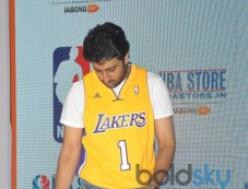 Abhishek Bachchan launches NBA Store Photos