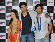 Alia Bhatt and Varun Dhawan at upcoming Film Launch Photos
