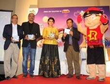 Kajol stuns druing Music launch of Mighty Raju Photos