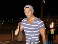 Ranveer Singh leaves for Dil Dhadakne Do Shooting Photos