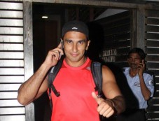 Ranveer Singh snapped at Farhan Akhtar Home Photos