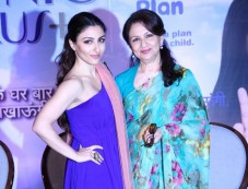 Sharmila Tagore and Soha Ali Khan support to Clinic Plus Photos