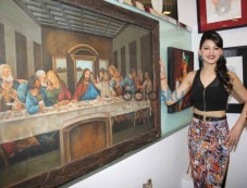 Urvashi Rautela at J S Art Gallery Exhibitions Photos