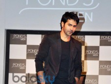 Varun Dhawan launches Ponds Mens range Photos