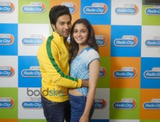 Alia Bhatt & Varun Dhawan at Radio City for Film Promotion Photos