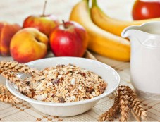 Apple With Cereal Photos