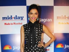 Deepika Padukone at Mid Day relaunch party Photos