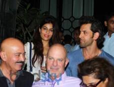 Hrithik Roshan with Family snapped at Nido Photos