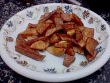 Masala Aloo Fry Snacks Recipe Photos