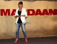 Rani Mukerji stuns during trailor launch of Mardaani Photos