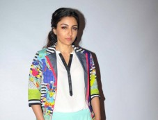 Soha Ali Khan at Chaarfutiya Chhokare Film Promotion Photos