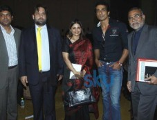 Sonu Sood launched Viva 6 at VHMUN 4 Photos