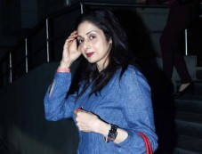 Sridevi and Celebs Snapped at Cinemax Photos